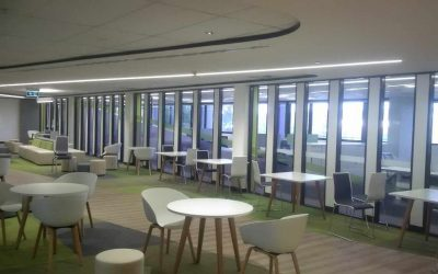 Project: ACT Health | Featuring Aluform's Series 1000 Front, Centre & Double Glaze Aluminium Partition Systems