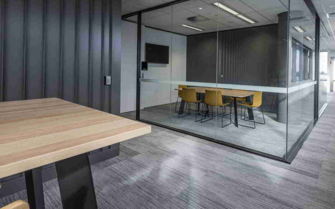 Black is the new White in Workspace Interiors!